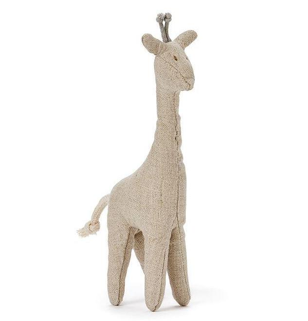 Mini Giraffe Baby Rattle - Angus & Dudley Collections