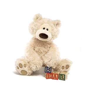Philbin Bear Plush Toy - Beige