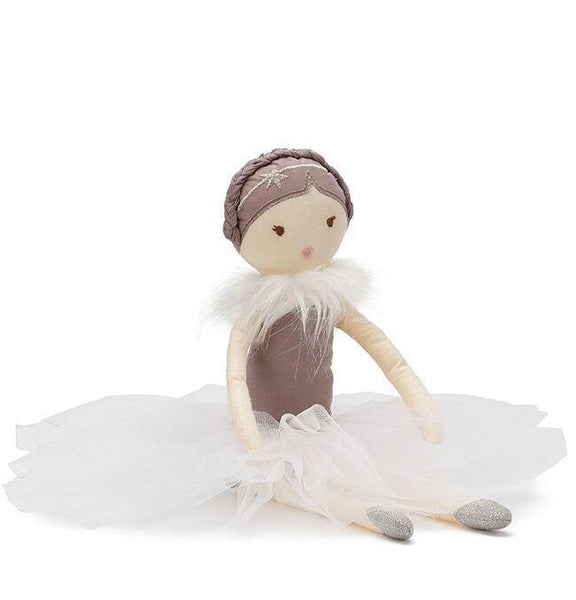 Nana Huchy Miss Posey White rag doll for girls.