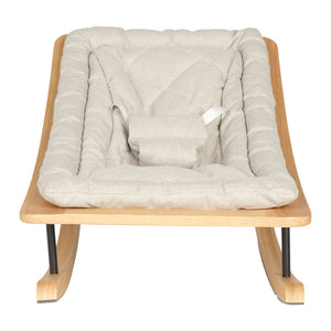 Quax Rocking Baby Bouncer - Sand Grey