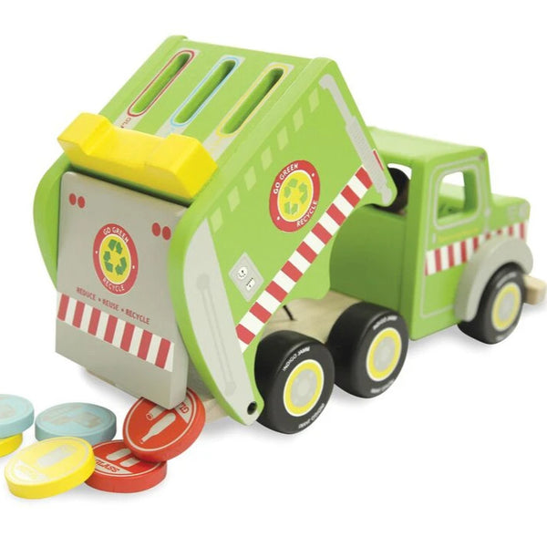 Recycling Ronnie Garbage Truck - Angus & Dudley Collections