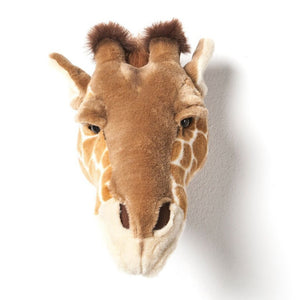Ruby Giraffe - Plush Wall Decor - Angus & Dudley Collections
