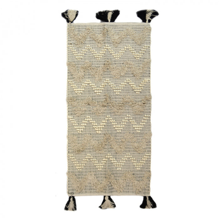 Zig Zag Knot Cotton Rug - Angus & Dudley Collections