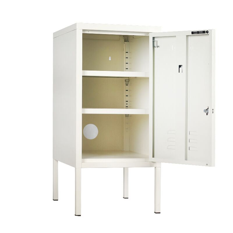 Mustard Made Shorty Locker - White - Angus & Dudley Collections