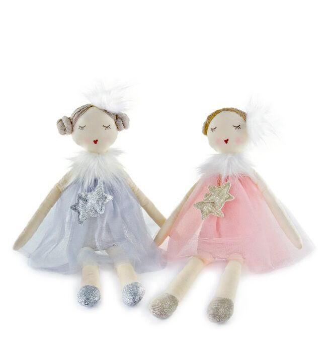 Nana Huchy Stardust Ballerina Soft Toy Doll - Angus & Dudley Collections