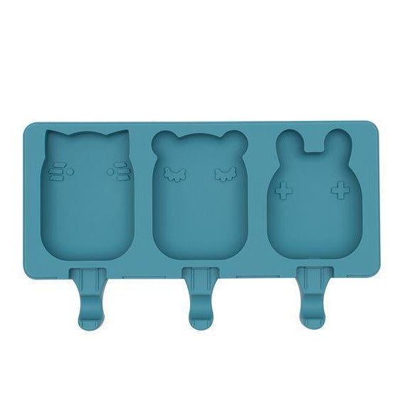 We Might Be Tiny Silicone Icy Pole Mould. Kids Meal time. Blue