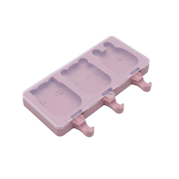 We Might Be Tiny Silicone Icy Pole Mould. Kids Meal time. Dusty Rose.