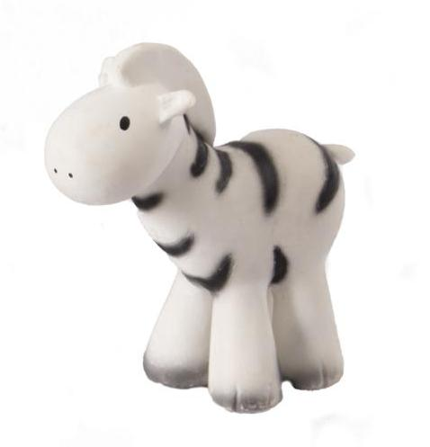 Zebra Rattle/Teether - Angus & Dudley Collections