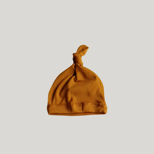 Susukoshi Cotton Knotted Hat - Brass