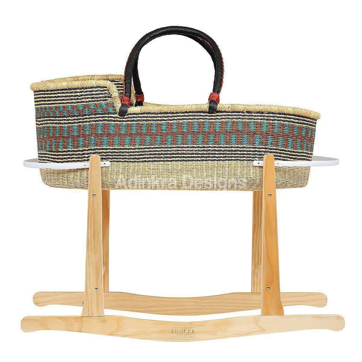 Baby moses basket rocking stand - Angus & Dudley Collections