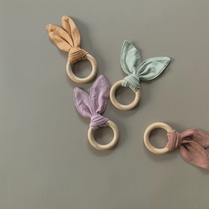 Susukoshi Toy Teether - Mauve