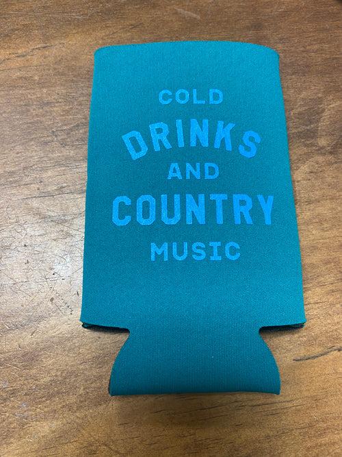 Cold Drinks and Country Music Drink Sleeve