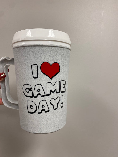 I Love Gameday Mug