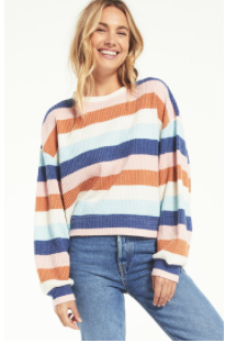 Stripe Thermal Top