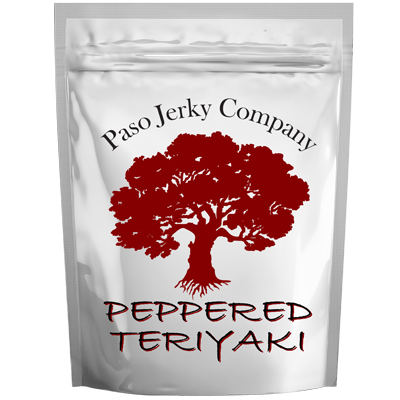 Peppered Teriyaki Flavored Beef Jerky