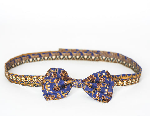 LIMITED EDITION The Billy Bow Baroque Regatta bow tie