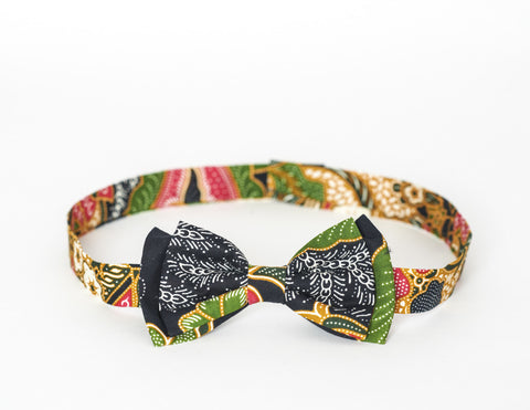 LIMITED EDITION The Billy Bow Batik Chinese Fleur bow tie