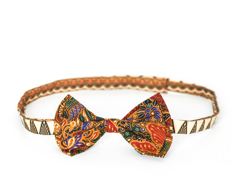 LIMITED EDITION The Billy Bow Batik Lotus bow tie