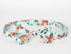 LIMITED EDITION The Billy Bow Floral Dewy Bloom bow tie