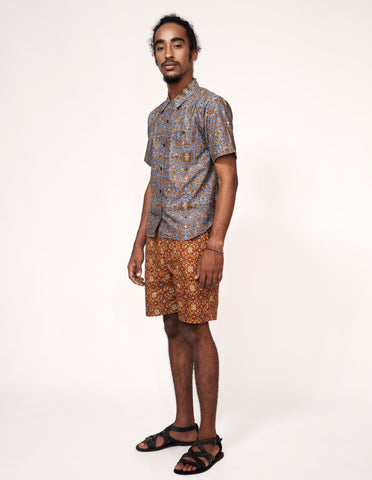 SUPER LIMITED Mr Prints Mens Sammy Short n Sweet Baroque Mist