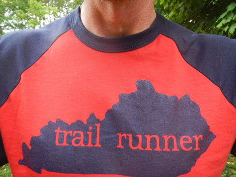 Trail Runner Baseball T-shirt