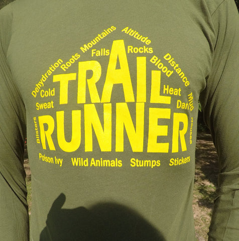 Long sleeve trail shirt
