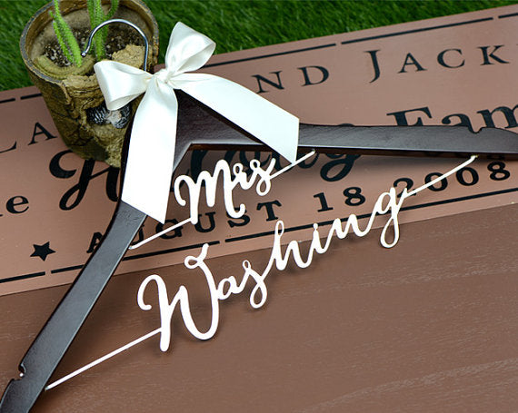 wedding hanger bridal dress hanger