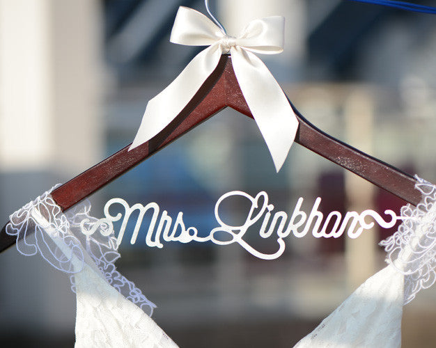 bridenew wedding hanger EL013