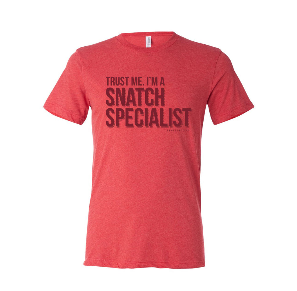 Men - Snatch Specialist 2.0 Shirt Front