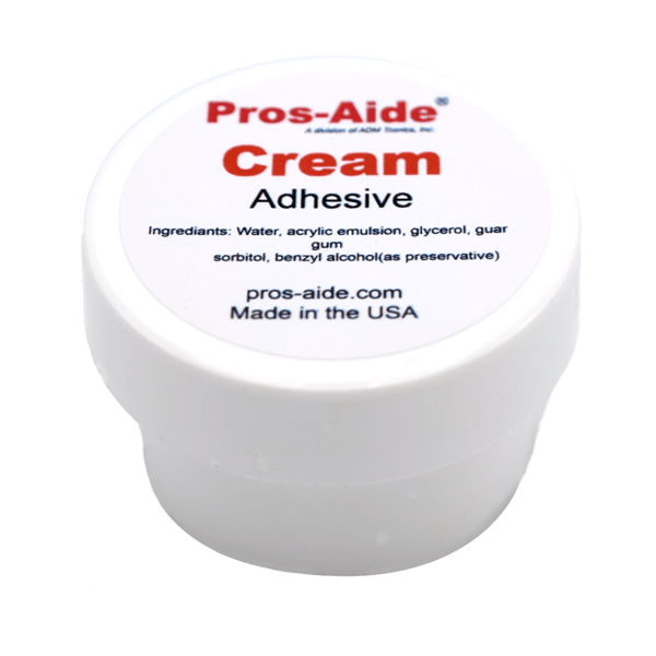 Pros-Aide Cream Adhesive - Makeup, Tools & Accessories - Pros Aide - Showgirl Shop