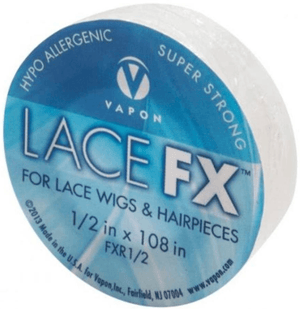 "Vapon Lace FX Tape 1/2"" (3 Yards) - Wigs, Tools & Accessories - Showgirl Wigs - Affordable Wigs, Lashes, Pleaser Shoe Stockist - Express Shipping!"