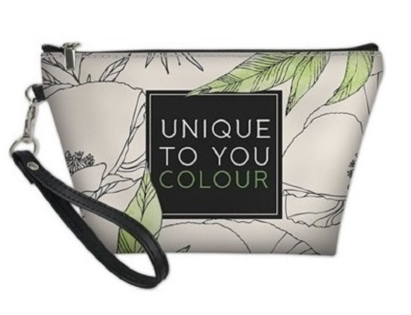 Signature Floral Cosmetic Bag - Style 4