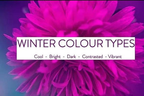 Seasonal Colour Magnet - Winter