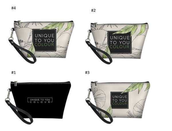 Signature Floral Cosmetic Bag - Style 2
