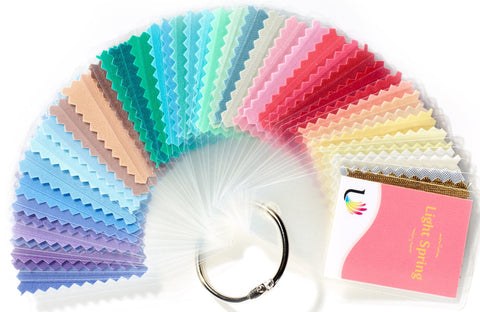 Customizable Light Spring Swatch Book