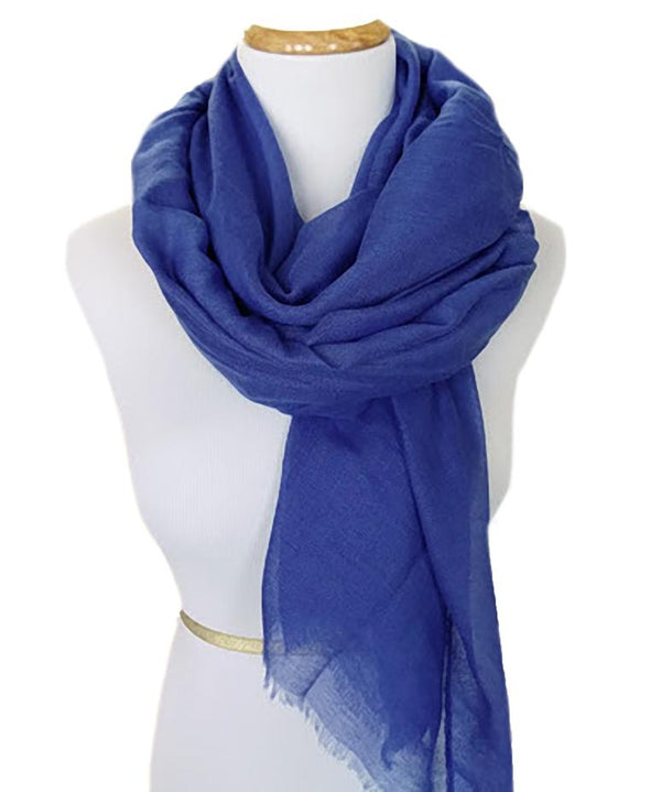 Ladies Scarf in Royal Blue