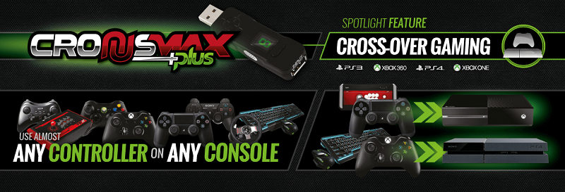 CronusMAX PLUS Use Any Controller