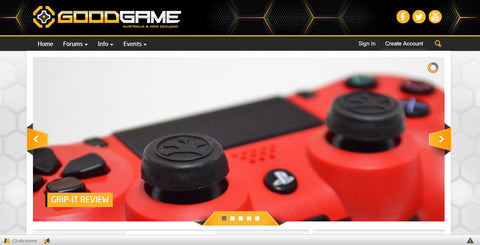 GoodGame Front Page Grip-iT Thumbstick Grips Covers Featured Product Review