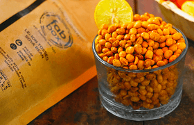 Lemon Tossed Soyabeans