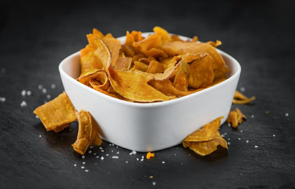 Mexican Quinoa Chips (Cheesy Jalapeno)