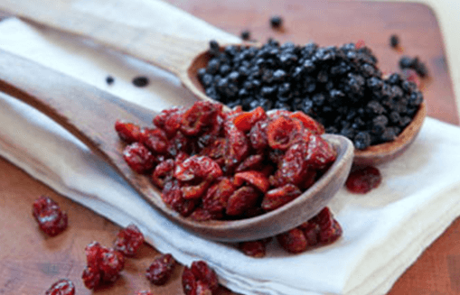 Morning Berries Mix (Dried Cranberry + Dried Blackberry)