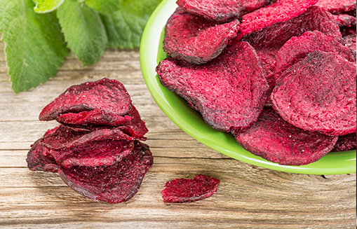 Peri Peri Beetroot Chips