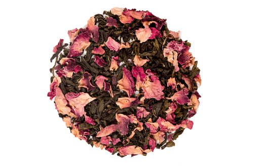 Rose Green Leaf Tea