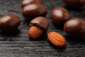Premium Chocolate Almonds