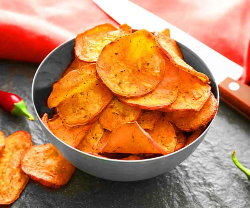 Salsa Sweet Potato Chips