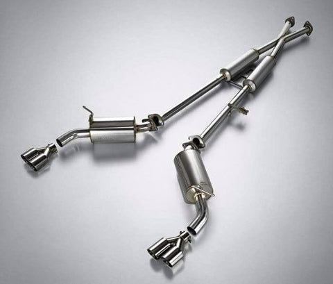 JUN B.L BK1 Geneiss Coupe 3.8 Type R Cat Back Exhaust  09-12 SHIPPED