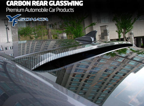 MIK YF Sonata Front Carbon Rear Glass Wing 09-14 SHIPPED