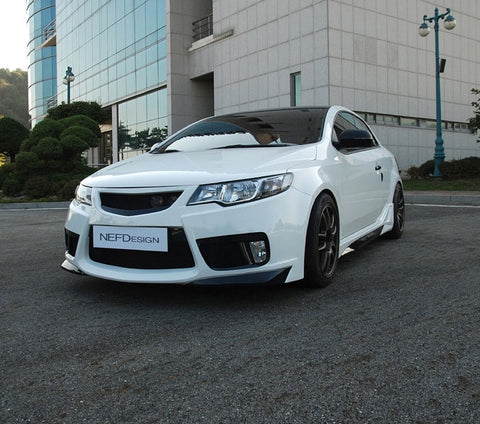 NEFD Forte Koup Front Bumper 09-13 Shipped