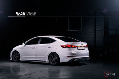 Adro AD Elantra Front Side Skirts 16+ SHIPPED