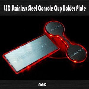 ArtX AD Elantra Sports LED Cup Holder Plate Kit 16 + SHIPPED